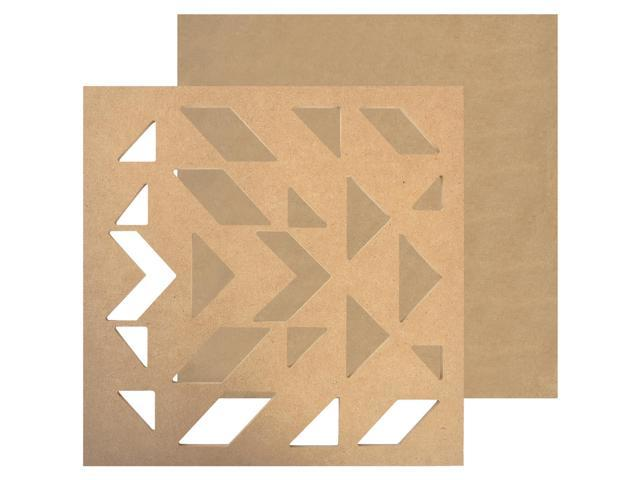 Beyond The Page Mdf Geo Art Wall Art-11