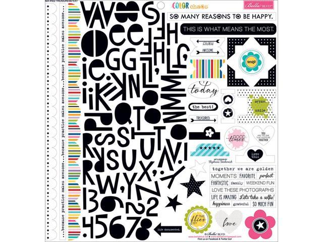 Color Chaos Cardstock Stickers 12