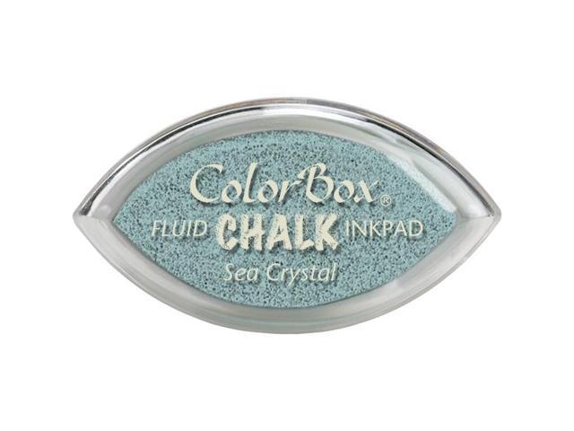 Colorbox Fluid Chalk Cat's Eye Ink Pad-Sea Crystal