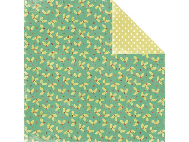 Mistletoe Double-Sided Cardstock 12