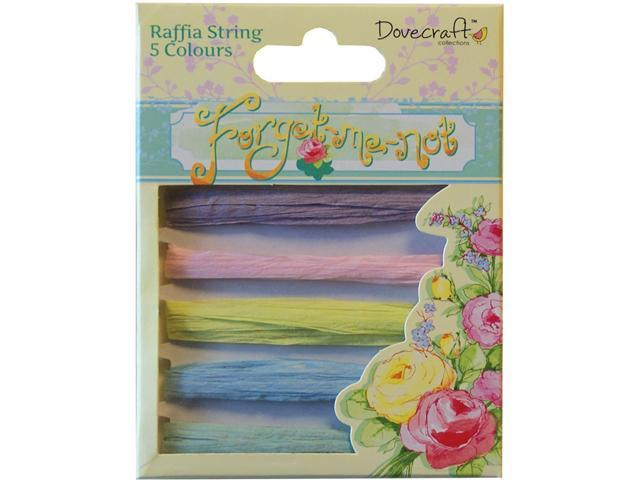 Forget-Me-Not Raffia String-