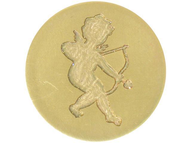 Large Decorative Seal Coin-Cherub
