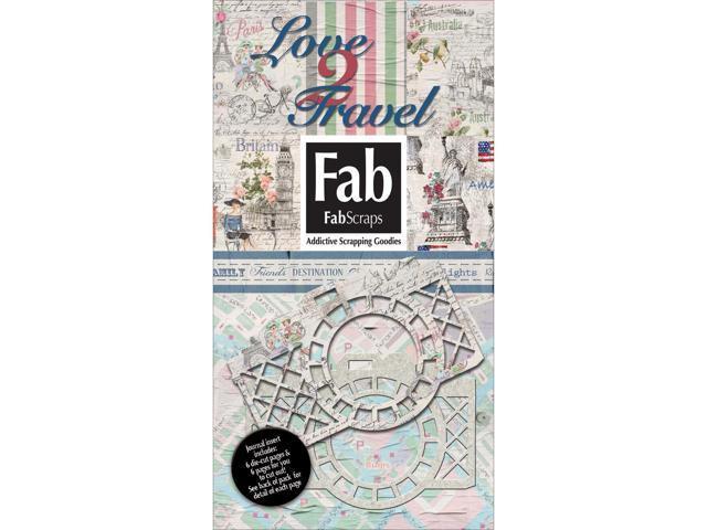 Love 2 Travel Journal Die-Cuts Pack-