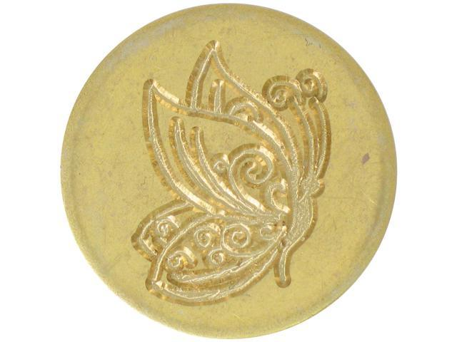Large Decorative Seal Coin-Butterfly