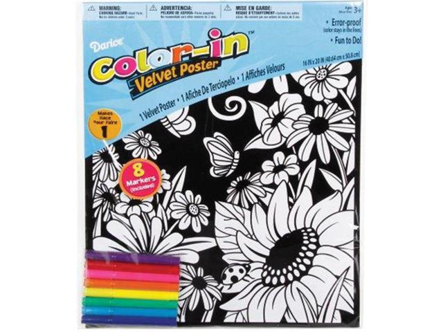 Color-In Velvet Poster 16