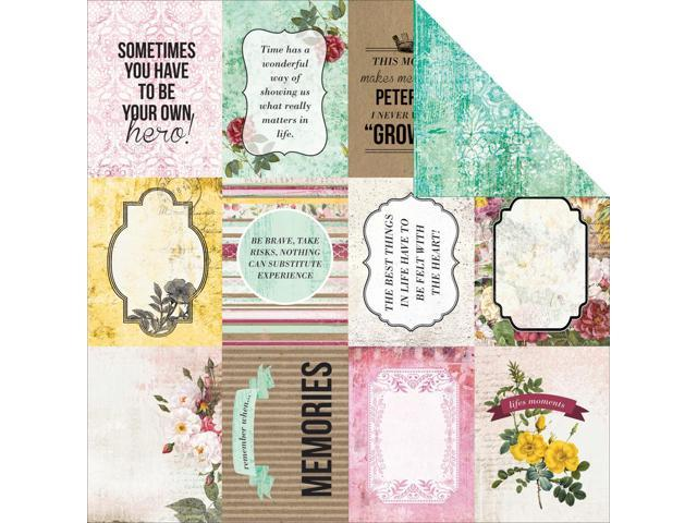 Be-You-Tiful Double-Sided Cardstock 12