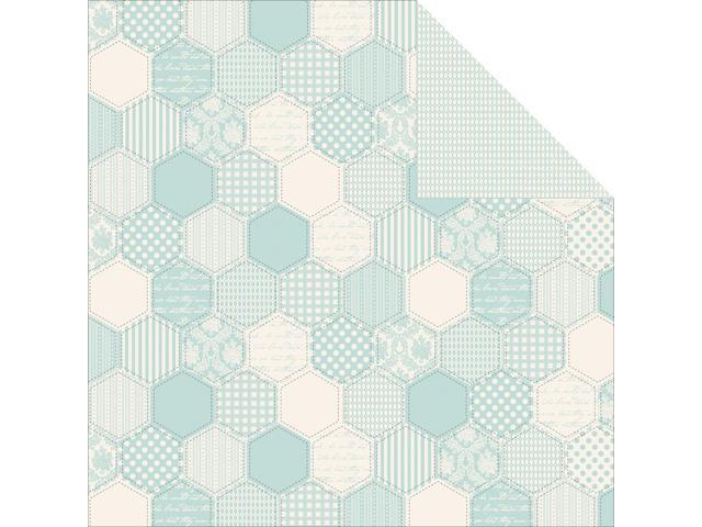 Pitter Patter Double-Sided Cardstock 12