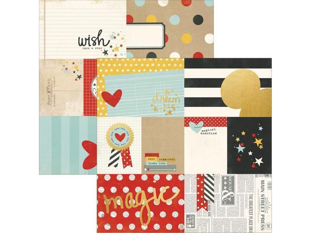 Say Cheese Ii Gold Foil Elements Cardstock 12