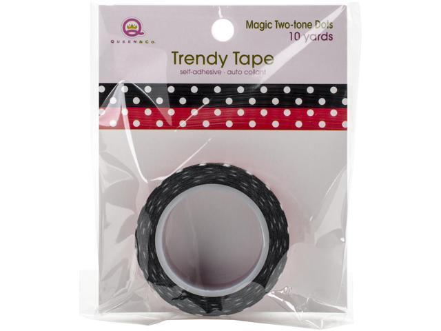 Magic Trendy Tape 15Mm X 10Yds-Two Tone Dots