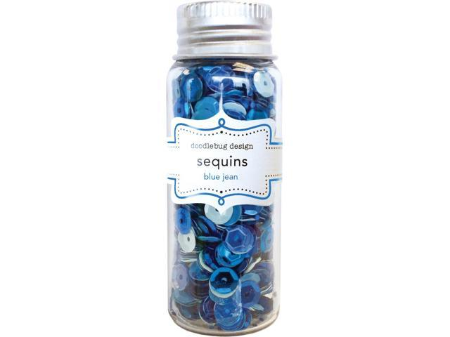 Kraft In Color Sequins Assorted-Blue Jean