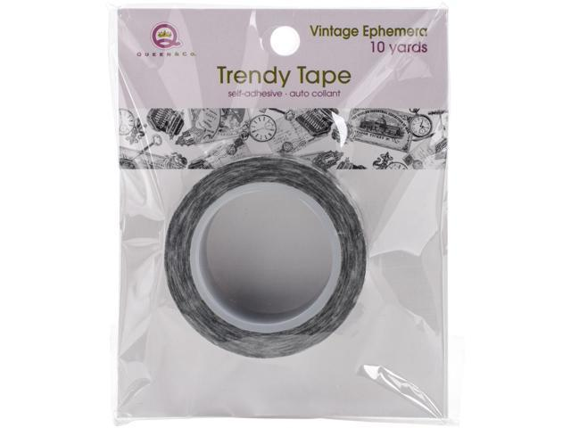 Queen & Co. Trendy Tape-Vintage Ephemra
