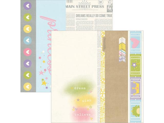 Enchanted Double-Sided Elements Cardstock 12