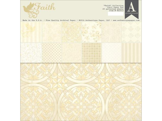 Authentique Double-Sided Paper Pad 12