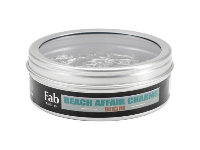 Silver Embellishments 30/Pkg-Bikini