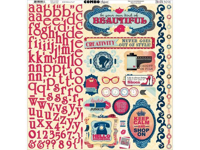 Modern Miss Combo Stickers 12