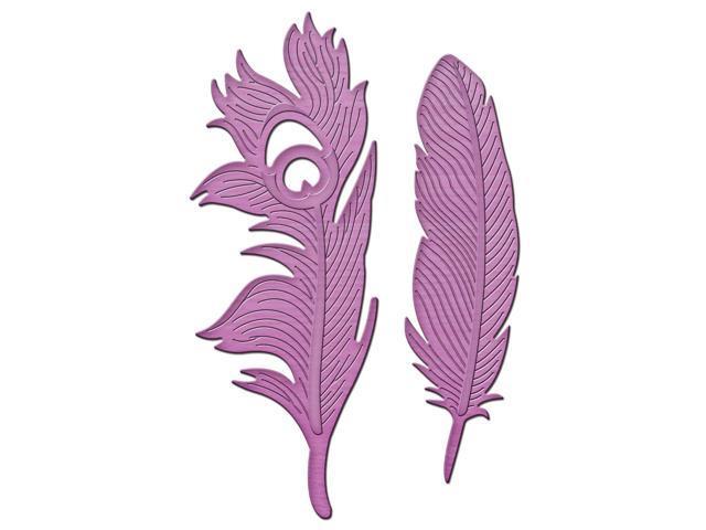 Spellbinders Shapeabilities In'spire Die-Feathers On The Wind