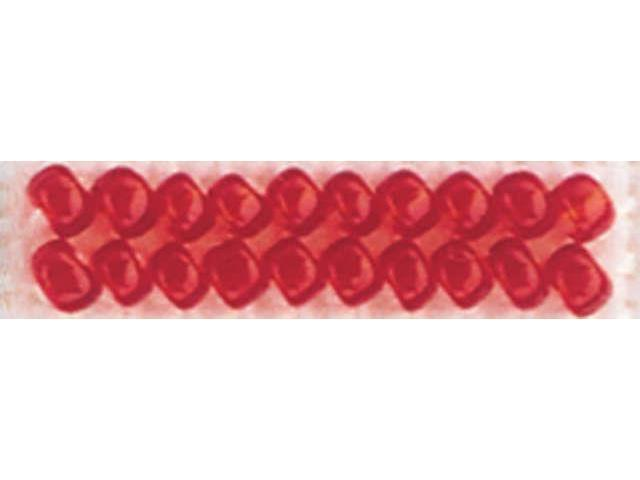Mill Hill Glass Seed Beads Economy Pack 9.08 Grams/Pkg-Red Red
