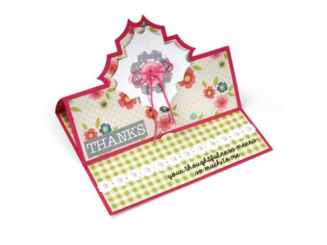 Sizzix Clear Stamps By Stephanie Barnard-Thanks