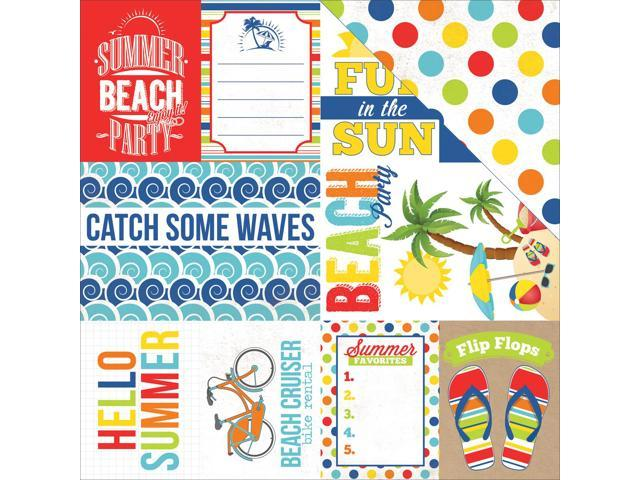 Beach Party Double-Sided Cardstock 12