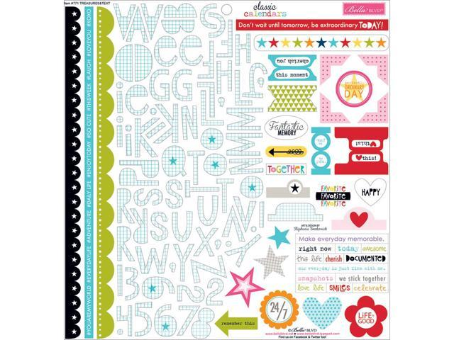 Classic Calendars Cardstock Stickers 12