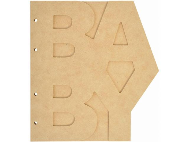 Beyond The Page Mdf Baby Album-7.75