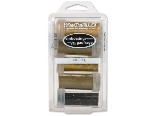 Stampendous Embossing Powder Kit 5/Pkg-Glamour