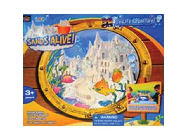 Sands Alive 3D Sealife Adventure Set-