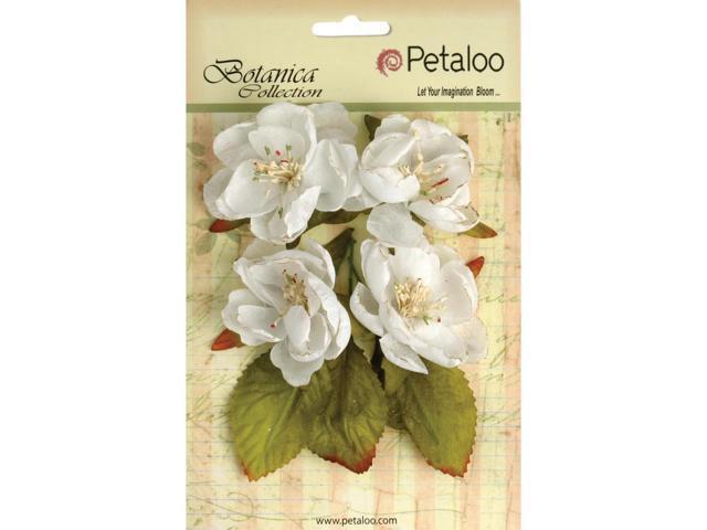 Botanica Blooms 4/Pkg-White