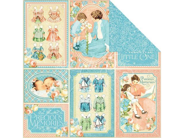 Precious Memories Double-Sided Cardstock 12