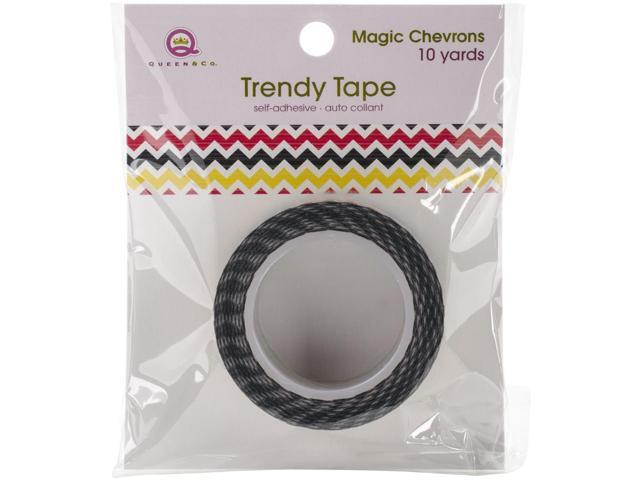 Magic Trendy Tape 15Mm X 10Yds-Chevrons