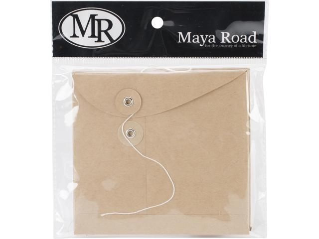 Kraft Envelopes W/Flaps & Strings 4.5