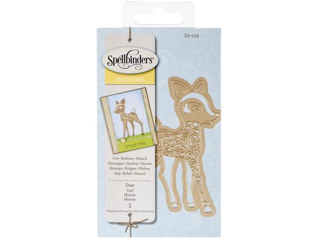 Spellbinders Shapeabilities Die D-Lites-Deer
