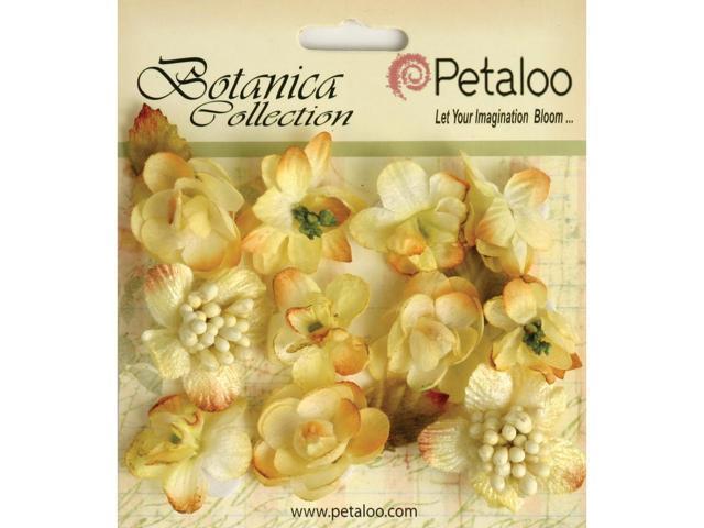 Botanica Minis 11/Pkg-Soft Yellow