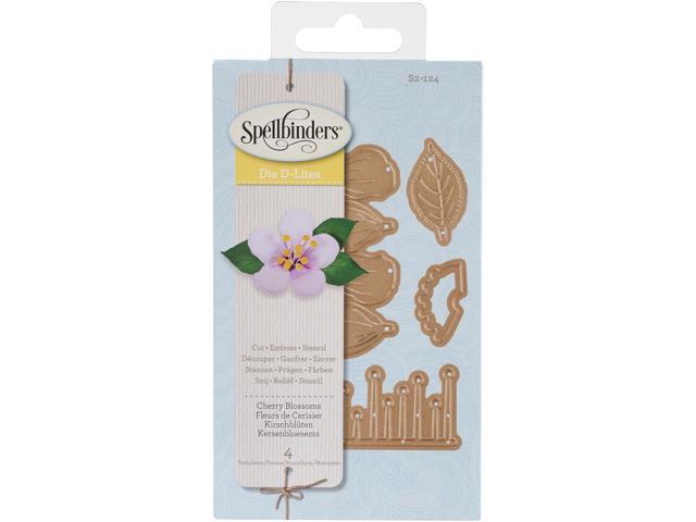 Spellbinders Shapeabilities Die D-Lites-Cherry Blossom