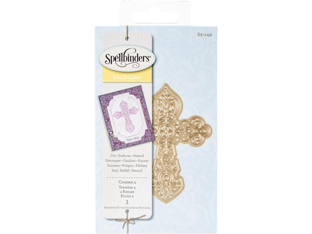 Spellbinders Shapeabilities Die D-Lites-Crosses 4
