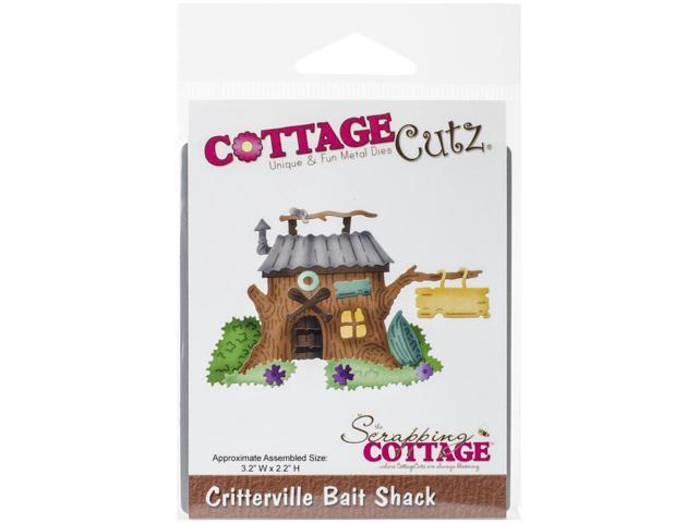Cottagecutz Die-Critterville Bait Shack 3.2