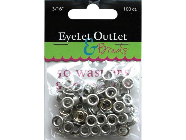 Eyelet Outlet Eyelets & Washers -3/16