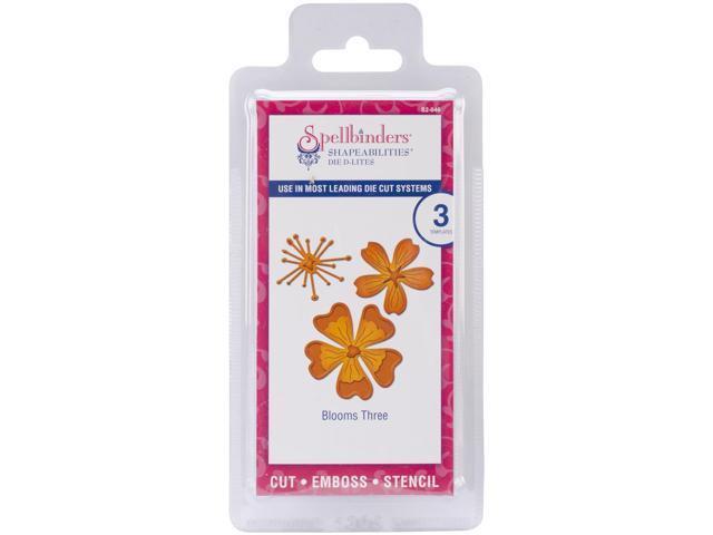 Spellbinders Shapeabilities Die D-Lites-Blooms 3, 4