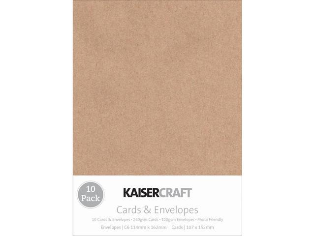 Kaisercraft C6 Cards & Envelopes 4.5