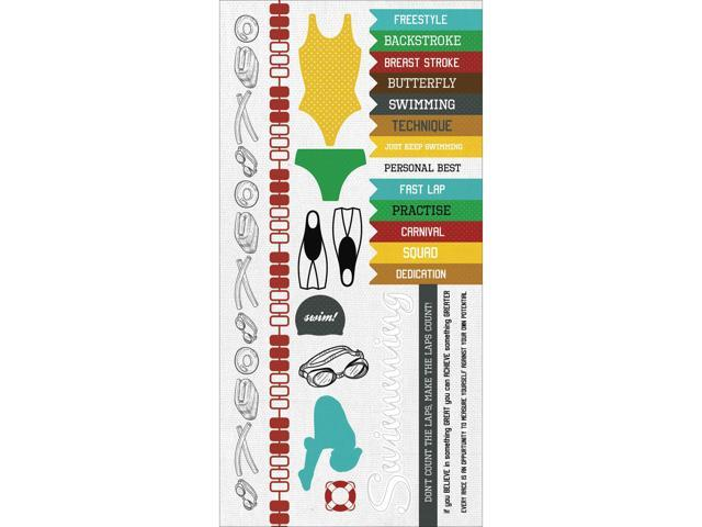 Game On! Cardstock Stickers 6