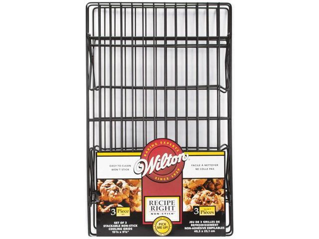 Recipe Right Non-Stick Cooling Grids 3/Pkg-15-7/8
