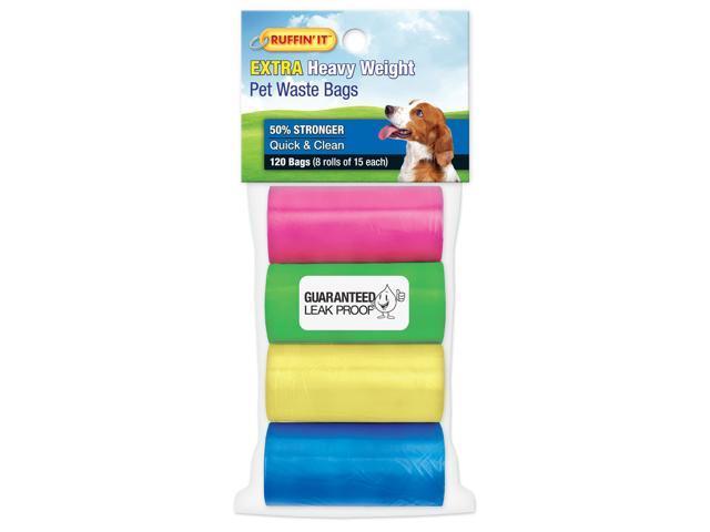Color Waste Bag Refills 8/Pkg-4 Colors