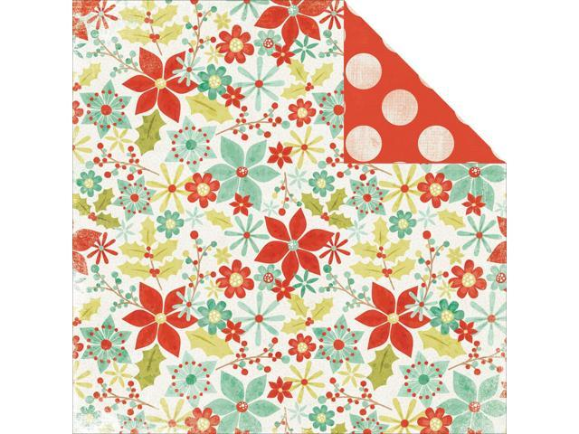 Mistletoe Double-Sided Cardstock 12