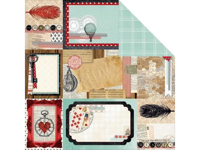 Star-Crossed Double-Sided Cardstock 12