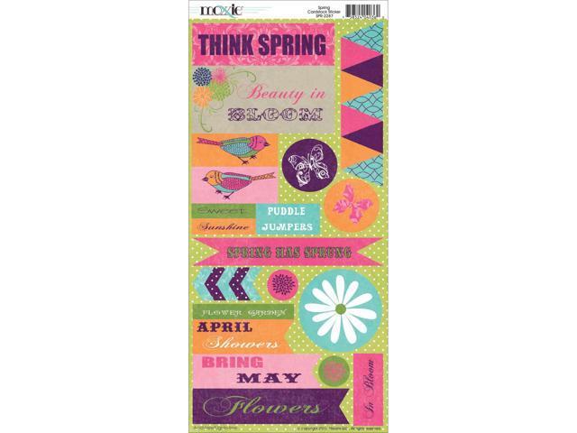 Springtime Cardstock Stickers-