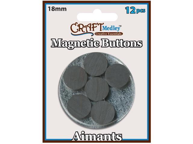 Magnetic Buttons-18mm 12/Pkg