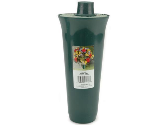 Floral Vase W/Styrofoam Insert-12