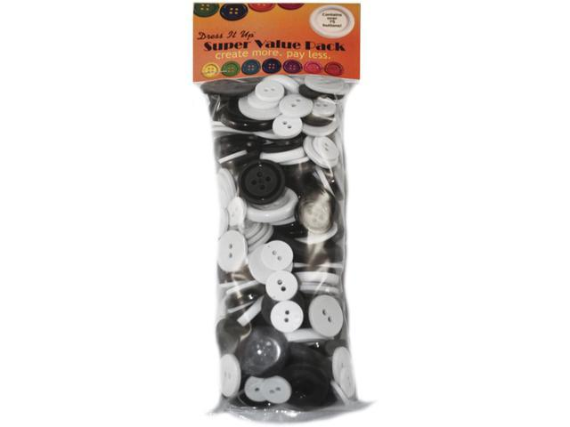 Dress It Up Embellishments Super Value Pack 3oz-Dominos