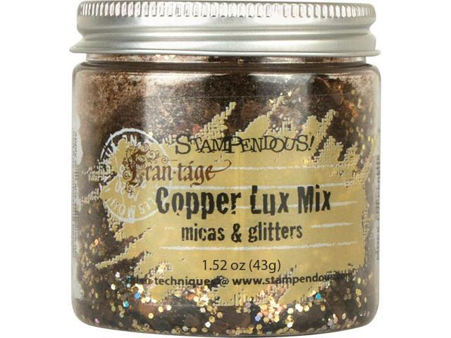 Stampendous Micas & Glitters Lux Mix 1.27Oz -Copper
