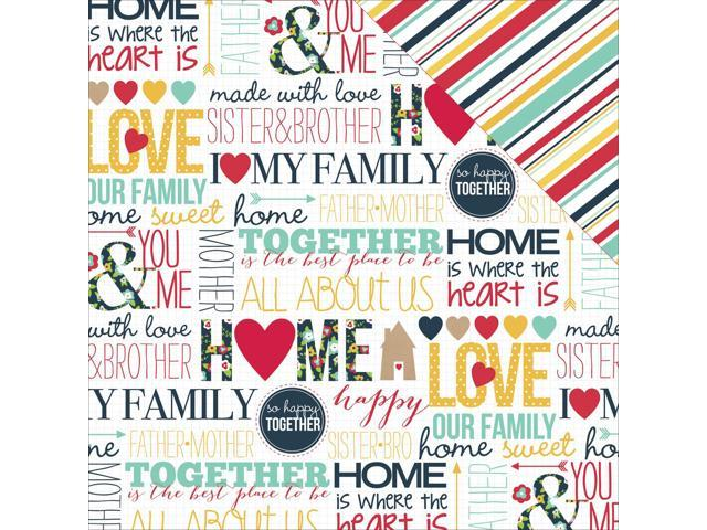 Our Family Double-Sided Cardstock 12